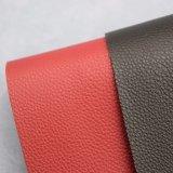 Mikrolitschi Korn geprägtes Belüftung-Schwamm-Leder für Beutel-Handtaschen