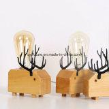 Cervi leggiadramente di legno creativi Bedlamp di DIY