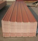3 층 물결 모양 UPVC 지붕 장