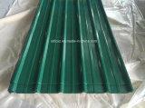El color de PPGI cubrió los azulejos de material para techos, hoja de acero galvanizada prepintada para el material para techos