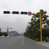Сталь Poles лампы островка безопасност улицы