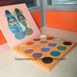 La magia por la gama de colores del sombreador de ojos de Place Nubian 16colors de Juvia