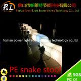 PET LED helle Schlange-Schemel-Möbel für Stab