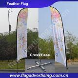 Fornitore di bandiera su ordinazione della spiaggia, bandiera della piuma, bandiera del Teardrop, bandiera volante