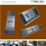 Metal feito sob encomenda que carimba partes com fabricação de metal T da folha
