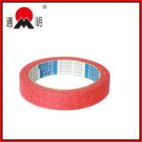 高品質の赤い付着力の布テープ