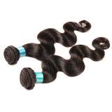 브라질 Virgin 머리 바디 파 사람의 모발 연장 3piece 10-26inch #2 #4 처리되지 않은 Virgin 브라질 머리 직물 뭉치