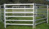 Trilho oval painéis galvanizados da jarda dos carneiros