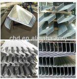 Perfil de acero del marco de puerta / Perfil galvanizado de acero laminado en frío de la galjanoplastia de Z (fábrica)
