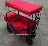 Carro plegable para niños con dosel