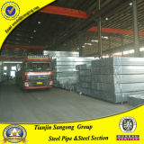 Ss400 30X30X2.0mm Various Sizes Pre - Galvanized Square Steel Pipe (SG174)