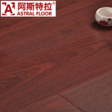 12 mm HDF seda superficie (n-Groove) Piso laminado (AS8117)