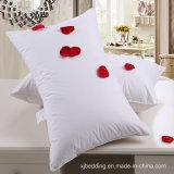 Almofada de fibra de poliéster com travesseiro de cama quente com tecido de algodão