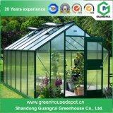 Landwirtschaftlicher Plastikgarten-grünes Haus