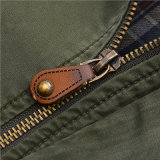 人の衣服のための中型様式の綿の立場カラージャケット