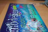 De commerciële Binnen Openlucht Vuurvast makende Banner van pvc met Grafische Druk