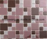 زجاجيّة فسيفساء مزيج حجارة لأنّ جدار أرضية