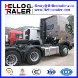 Sinotruk-HOWO A7 6X4のトラクターのトラック