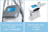 Grasa fresca de la tecnología del nuevo del diseño 3 vacío de las manetas que congela adelgazando la máquina