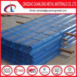 PPGI galvanizó la hoja acanalada del material para techos del material para techos Sheet/PPGI/prepintado cubrir la hoja
