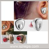 Tipo mono mini auriculares sem fio Handsfree da orelha do fone de ouvido de Bluetooth V4.1