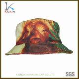 2017新しいデザイン子供のための動物の印刷の綿のバケツの帽子