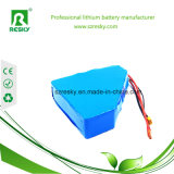 Pacchetto ricaricabile della batteria del triangolo 12V 11.1V 2000mAh per la lampada del prato inglese, solare