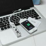 Pequeña vaca portable linda una batería 2600mAh de la potencia del tiempo para todos los productos de Digitaces