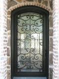 家のための装飾用の鉄の単式記帳のドアの卸売価格
