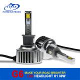 Phare 8-48V de la haute énergie H1 DEL de transport rapide pour le phare du golf 6 DEL