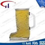 350ml 단화 디자인 유리제 맥주잔 (CHM8060)