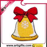 Weihnachten Design Embroidery Badge mit Hot Melt Glue in Back