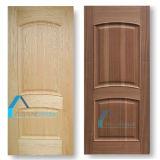 Дешевая выпуклая линия/подняла кожу панели двери панели отлитую в форму HDF