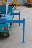 le camion mobile hydraulique électrique de 8m à de 16m a monté le levage de ciseaux d'homme