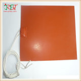 Flexible Waterproof and Electric Silicone Rubber Insulated Wire Wound Heater Film