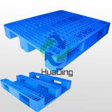 pallet resistente della plastica di industria di Rackable del ponte aperto dei 3 corridori di 1200*1000*155mm
