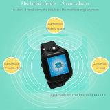 3G caçoa o relógio esperto do GPS com tela de toque (D18)
