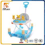 Da altura funcional do frame do ferro do metal do cavalo de balanço caminhante ajustável do bebê