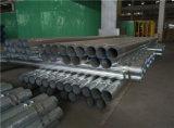 Tubulações de aço de combate de proteção de incêndio do sistema de extinção de incêndios do carbono do UL FM ERW