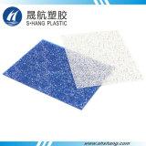 Синим панель диаманта выбитая поликарбонатом твердая