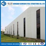 Almacén prefabricado modificado para requisitos particulares del edificio de la estructura de acero de la casa del palmo grande del bajo costo
