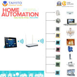 Système sans fil de domotique de système sec de domotique de Taiyito 2.4G Zigbee
