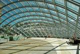 鉄骨構造ガラスの家