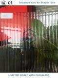 Ausgeglichenes Moru/REEDgekopiertes Glas für Dusche-Tür