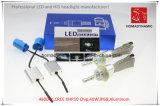 Luz do carro do diodo emissor de luz do farol do diodo emissor de luz com a microplaqueta H4 9600lm 6000k do CREE Xhp-50