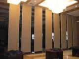 De geluiddichte Houten Beweegbare Muren van de Verdeling voor Restaurant