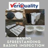 Lavabos &Freestanding control de calidad de los lavabos y servicio del examen