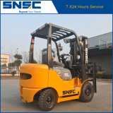 Forklift pequeno da gasolina do dever 1.5ton