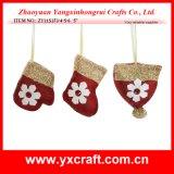 Arte del árbol de la decoración de la Navidad de la decoración de la Navidad (ZY11S376-9-10) pequeño