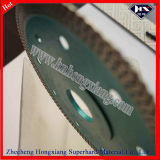 "4 "" Cutting CeramicのためのターボDiamond Saw Blade Hot Press Long Life Super Thin"